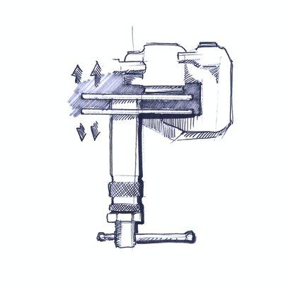 Disc brake piston spreader