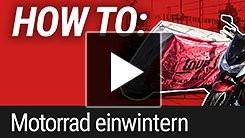 HOW TO: Motorrad einwintern/einmotten
