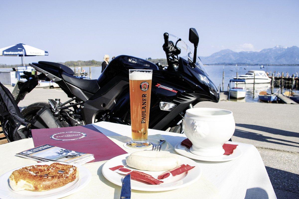 Deutschlands Alpen Motorrad Tour