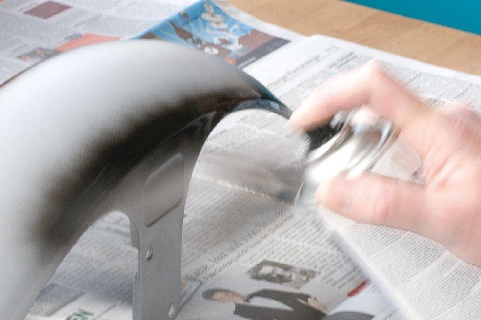 Fase6 –applicare la vernice coprente