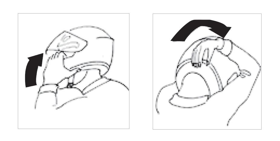 Ermittelte Helmgröße prüfen