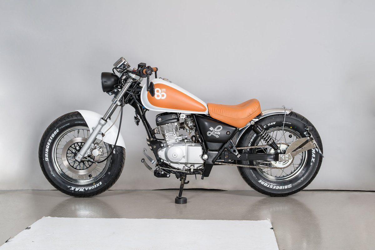 Suzuki GZ 125 Marauder Louis special conversion