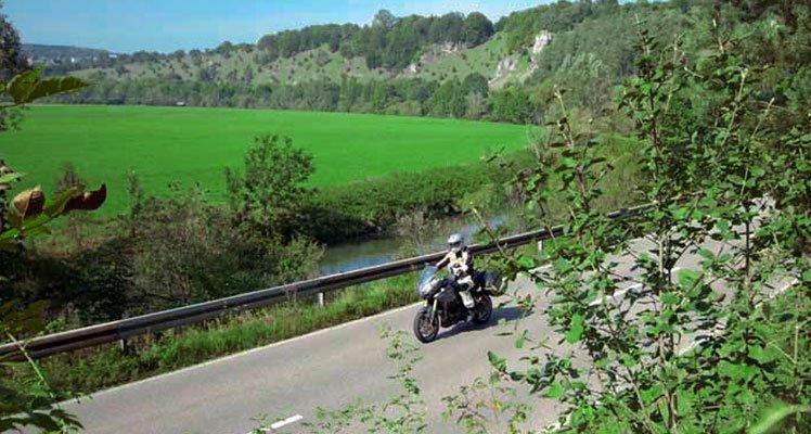 Deutschlands Südosten – Fränkisches Seenland Motorrad Tour