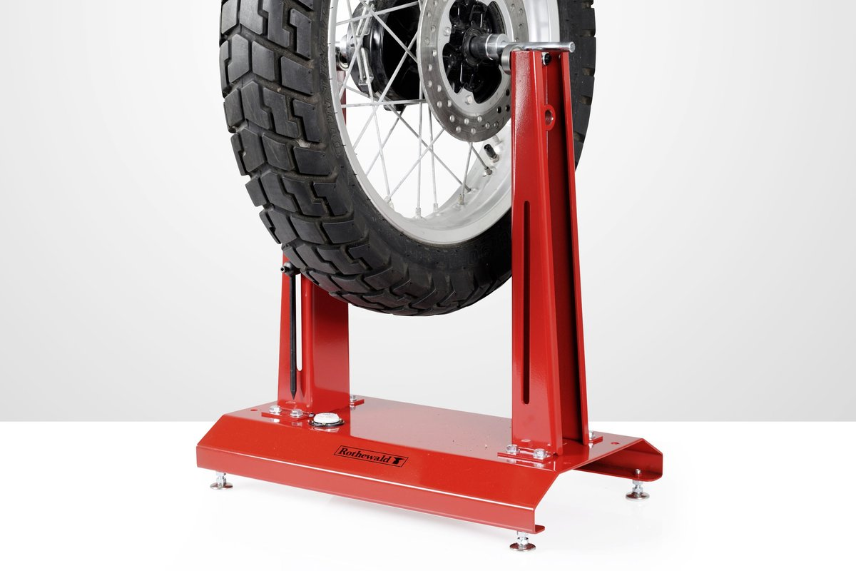 Wheel balancing reduces vibration