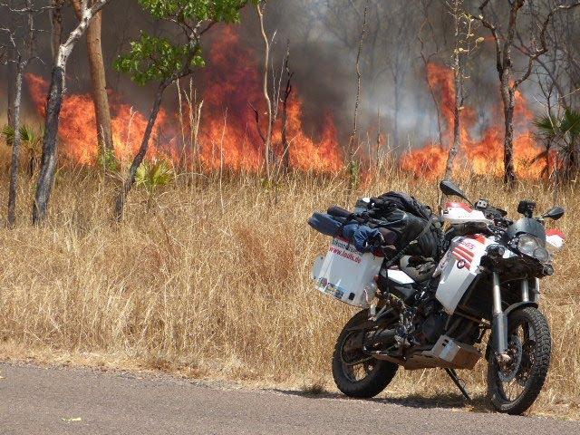 Australien, mit dem Motorrad durch Down Under