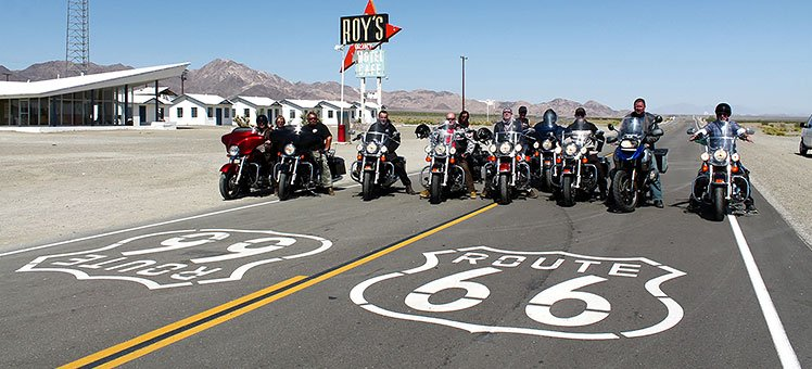 Denver – Los Angeles Motorrad Tour