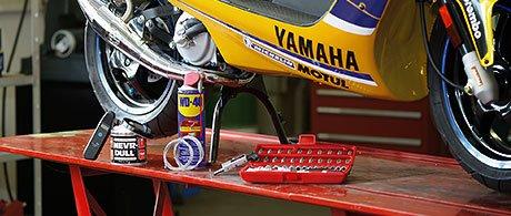 Motorrad Hebebühne