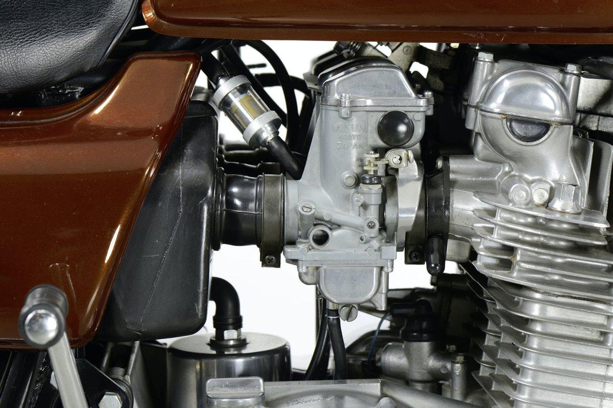 Step 10 – Carburettor frozen