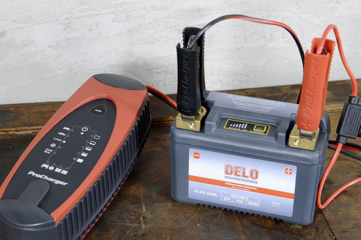 Photo 4 –Les batteries lithium-ion nécessitent un chargeur spécial