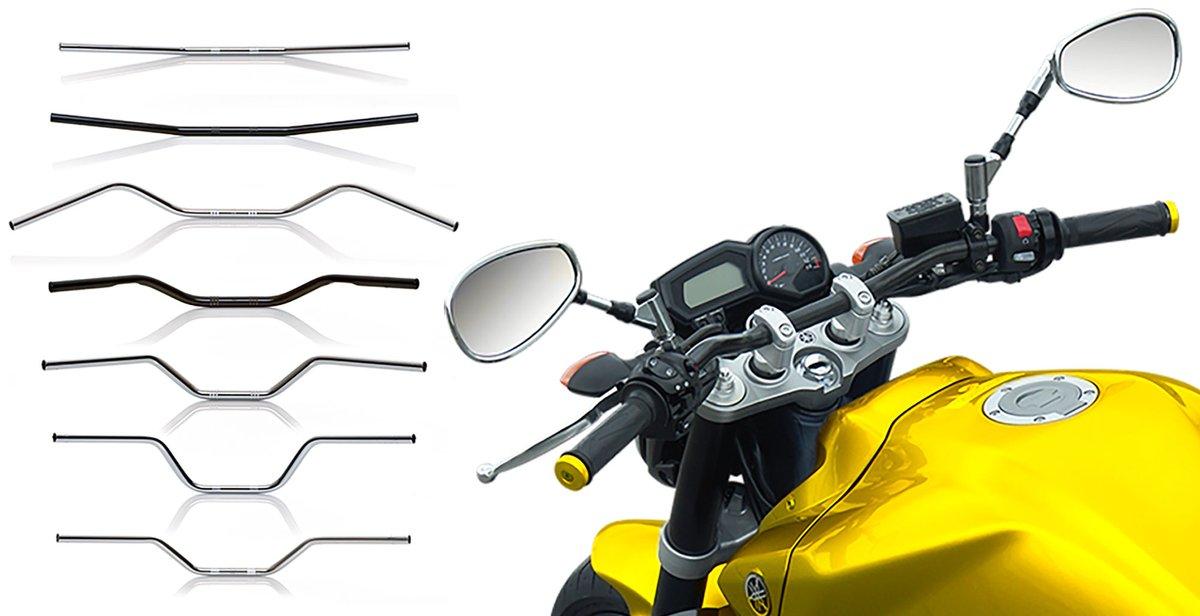 Different handlebar shapes