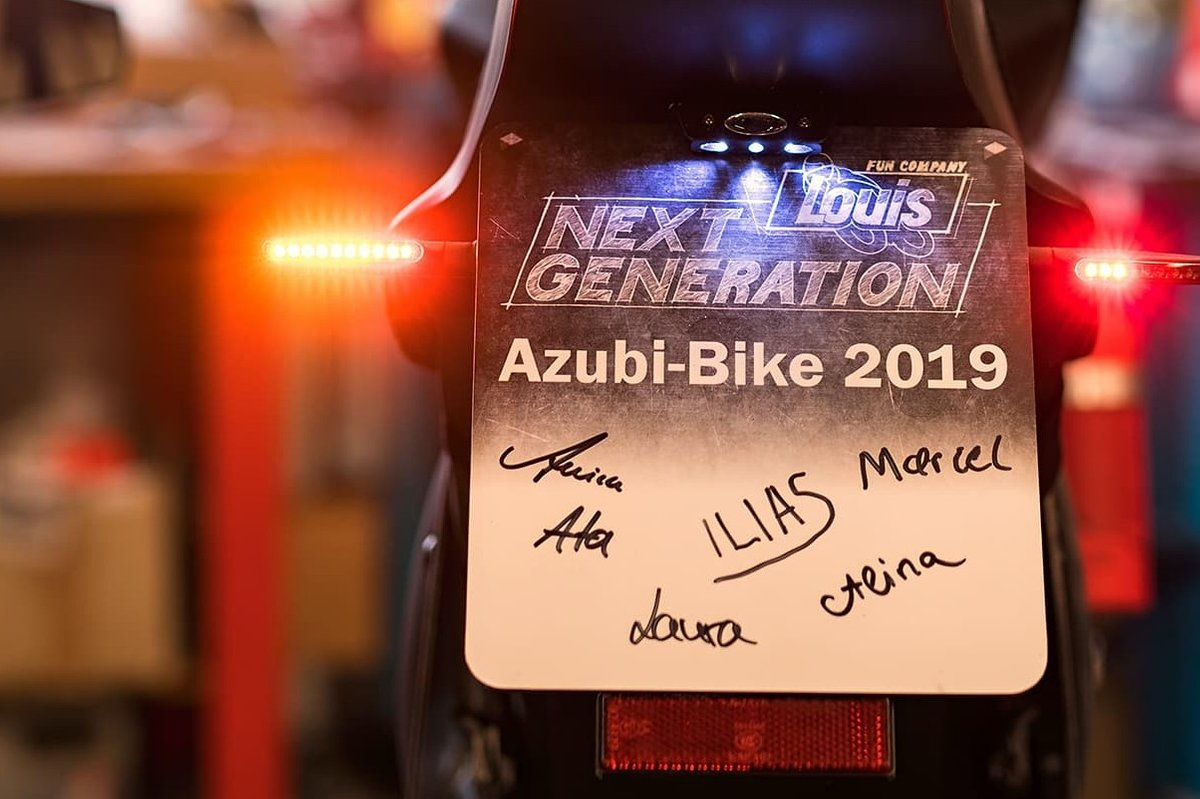 LOUIS BIKE SPECIALS – KAWASAKI Z 125 AZUBI BIKE 2019