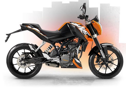 Beginners motorcycle - KTM Duke