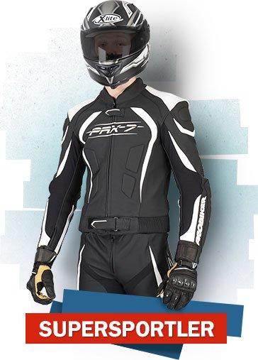 Typberatung - Supersportler Motorradfahrer