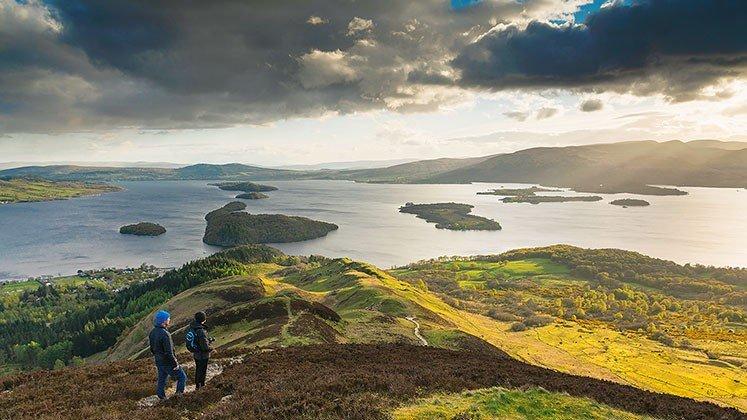Loch Lomond Walkers | Kenny Lam