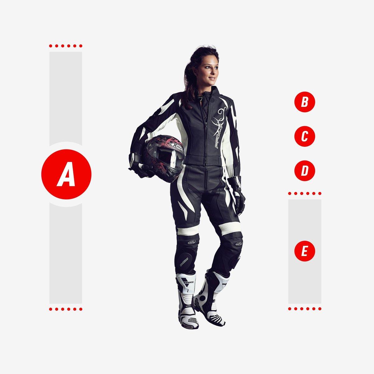 Die Problemzonen bei der Motorrad-Damenbekleidung
