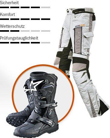 Typberatung - Enduro Motorradfahrer