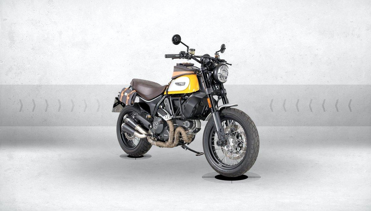 Ducati Scrambler 800– Special Louis conversion