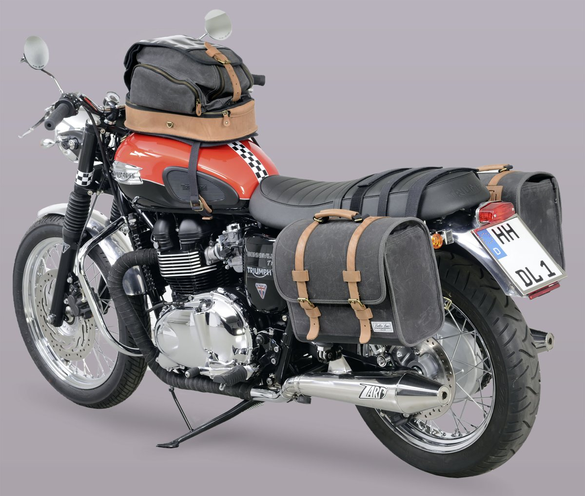 Triumph Bonneville T100 Special Custom Bike Louis Motorcycle Clothing And Technology