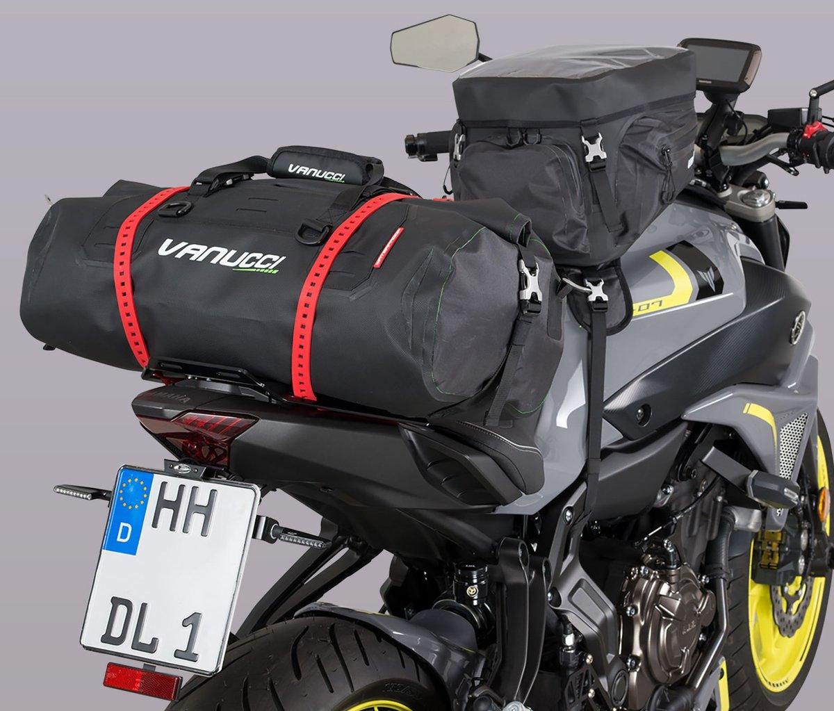 Vanucci Gepäckrolle und Tankrucksack
