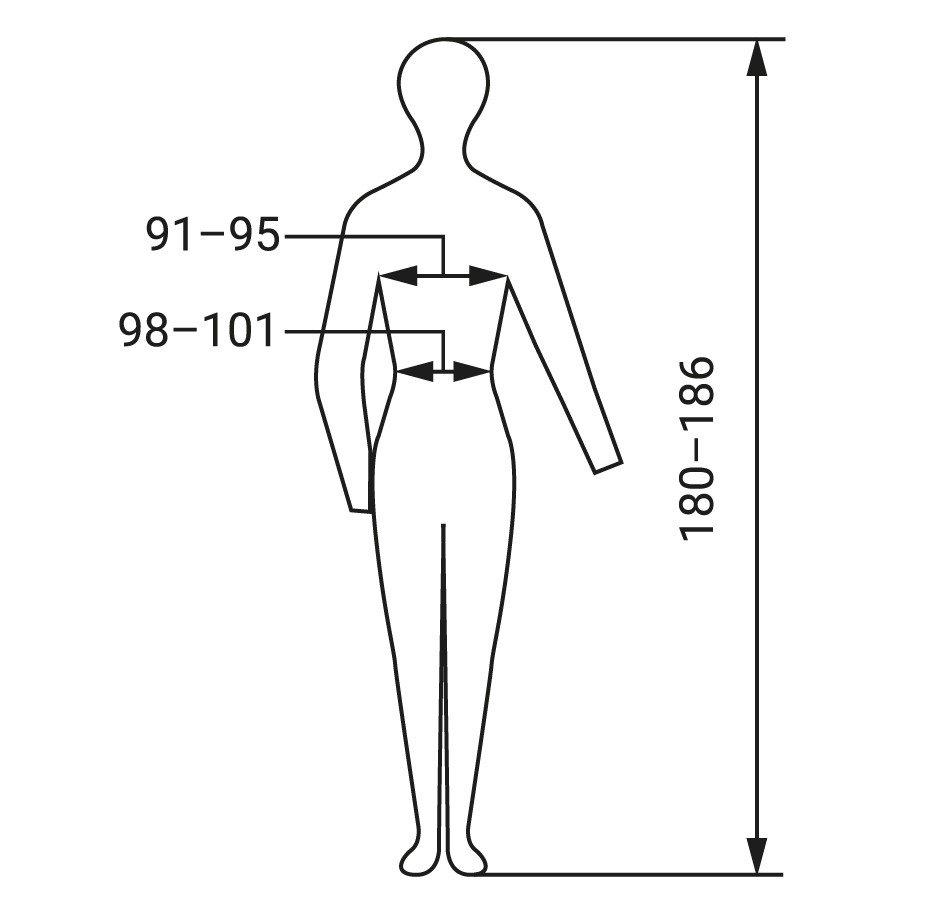 Konfektionsgrösse: Körpermaße