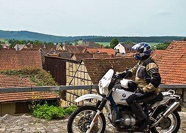 Rhön – Spessart – Thüringer Wald Motorrad Tour