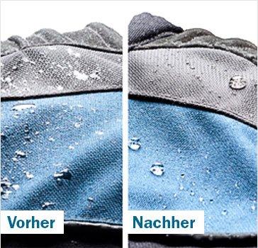 Textilpflege - Impraegnierung