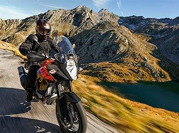 Ein Motorradtour durch die Pässe