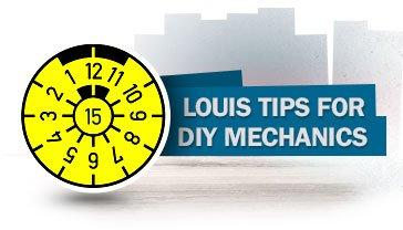 Louis tips for DIY mechanics - Tips for bikers