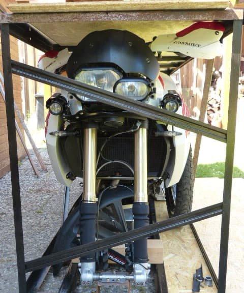 Motorrad Transport Verfrachten