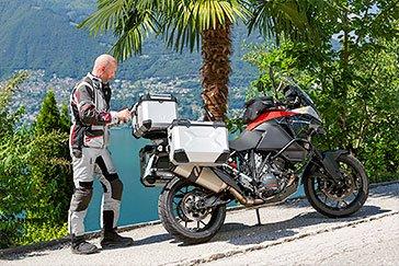 Lago Di Lugano - Palmen in der Schweiz? Ein Merkmal der Südschweiz. © Jörg Künstle