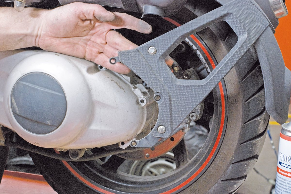 Step 2 – Take off the spray guard