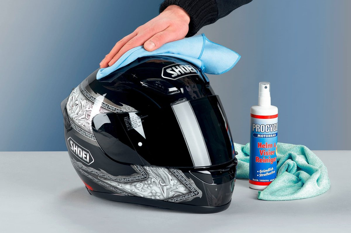 Clothing Care - visor cleaning
