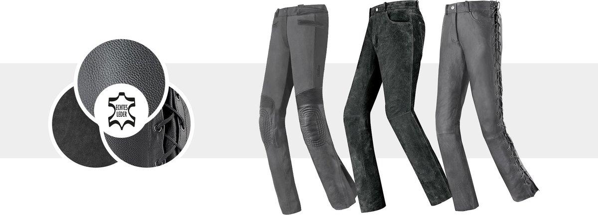 Motoradhosen für Frauen aus Leder