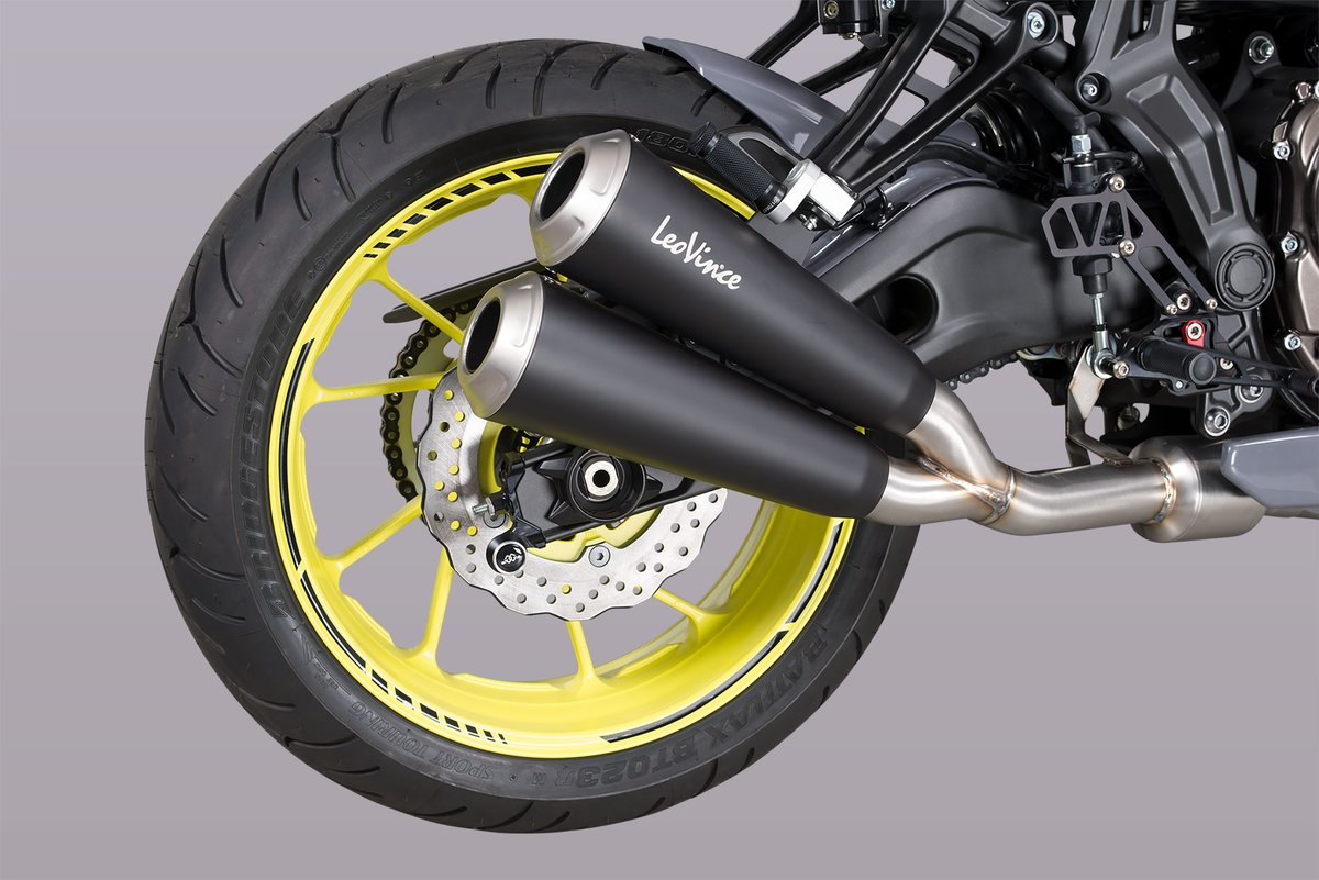 Vince GP dual exhaust system