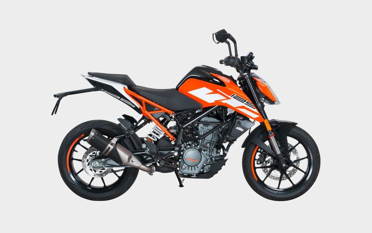 Moto d'origine: KTM125Duke