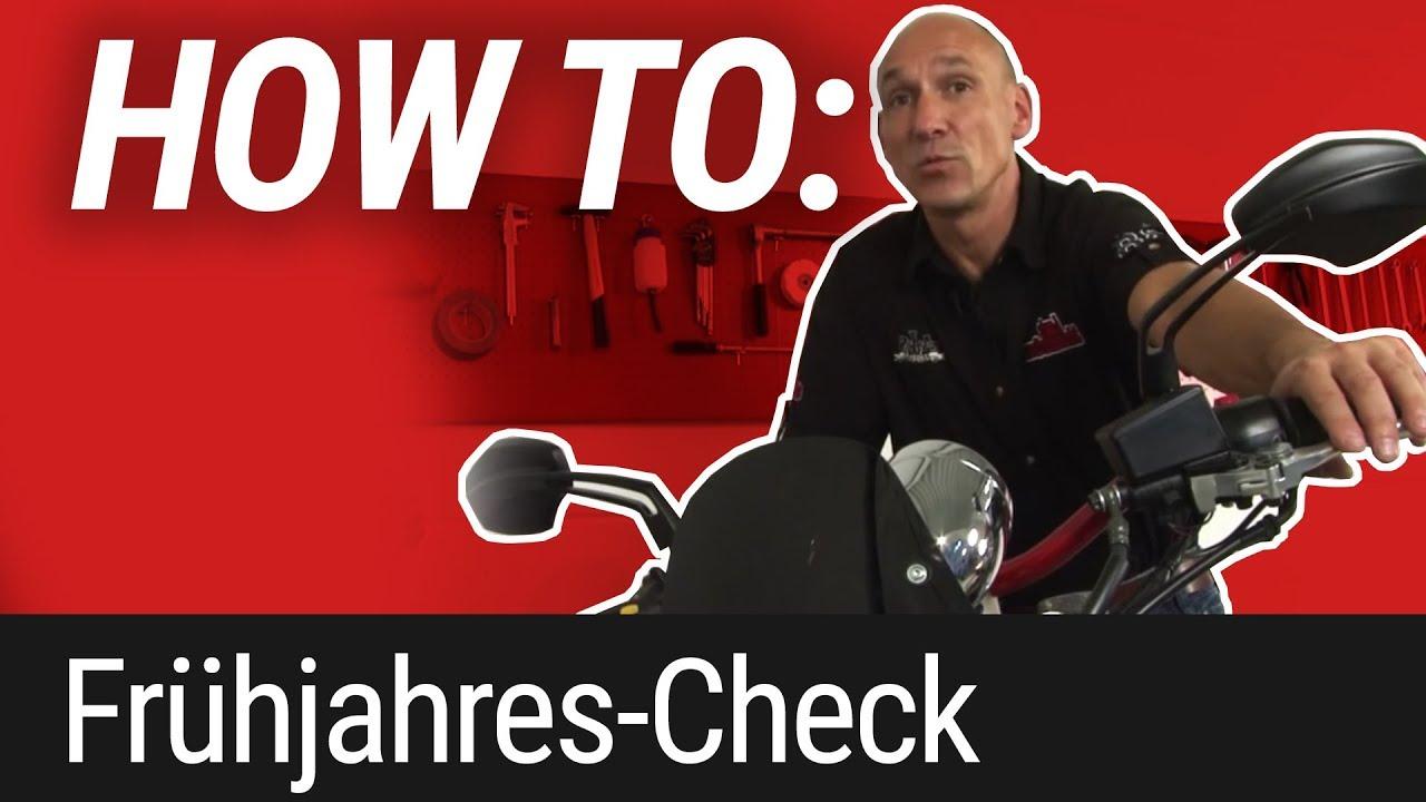 HOW TO: Frühjahrs-Check am Motorrad
