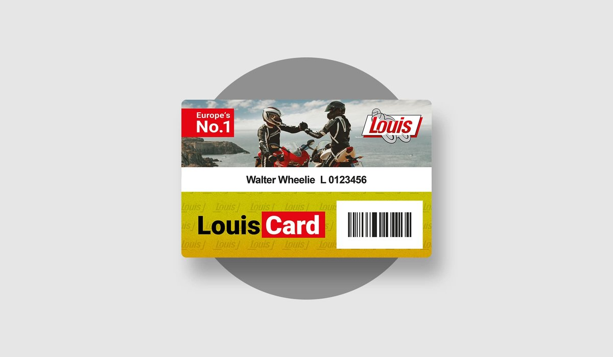 LouisCard gold