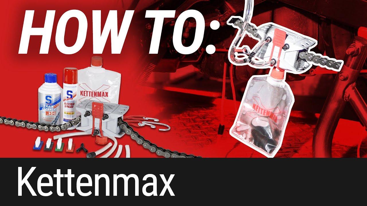HOW TO: Motorradkette reinigen/fetten mit Kettenmax
