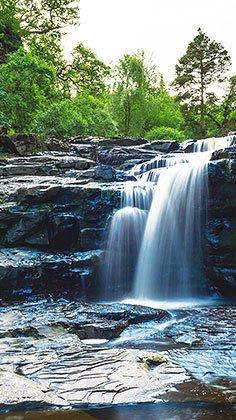 New Lanark Clyde Falls