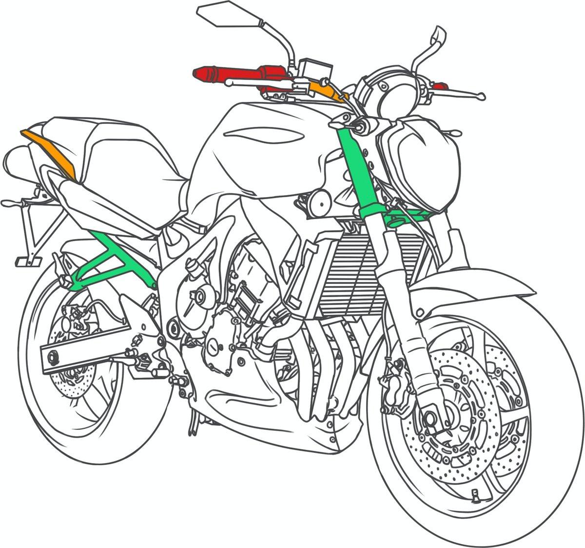 Verzurrpunkte für den Motorrad Transport