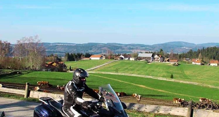 Deutschlands Südosten – Bayerischer Wald Motorrad Tour
