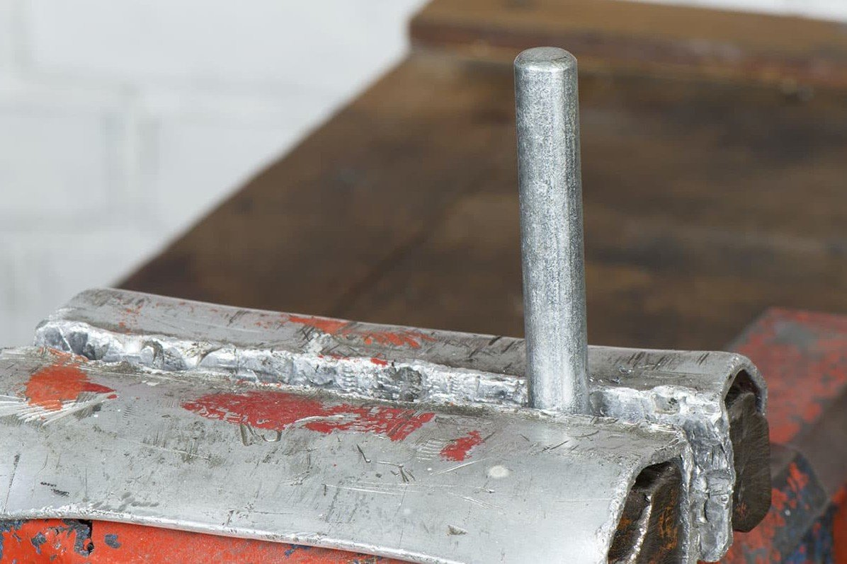 Part 2, Step 1 – The bolt must be chamfered so the die can be positioned straight