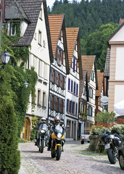 Deutschlands Südwesten Motorrad Tour
