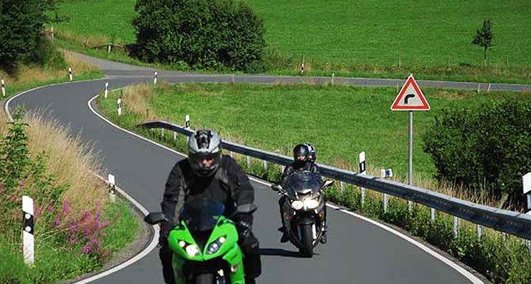 Deutschlands Westen – Ederberglandroute Motorrad Tour