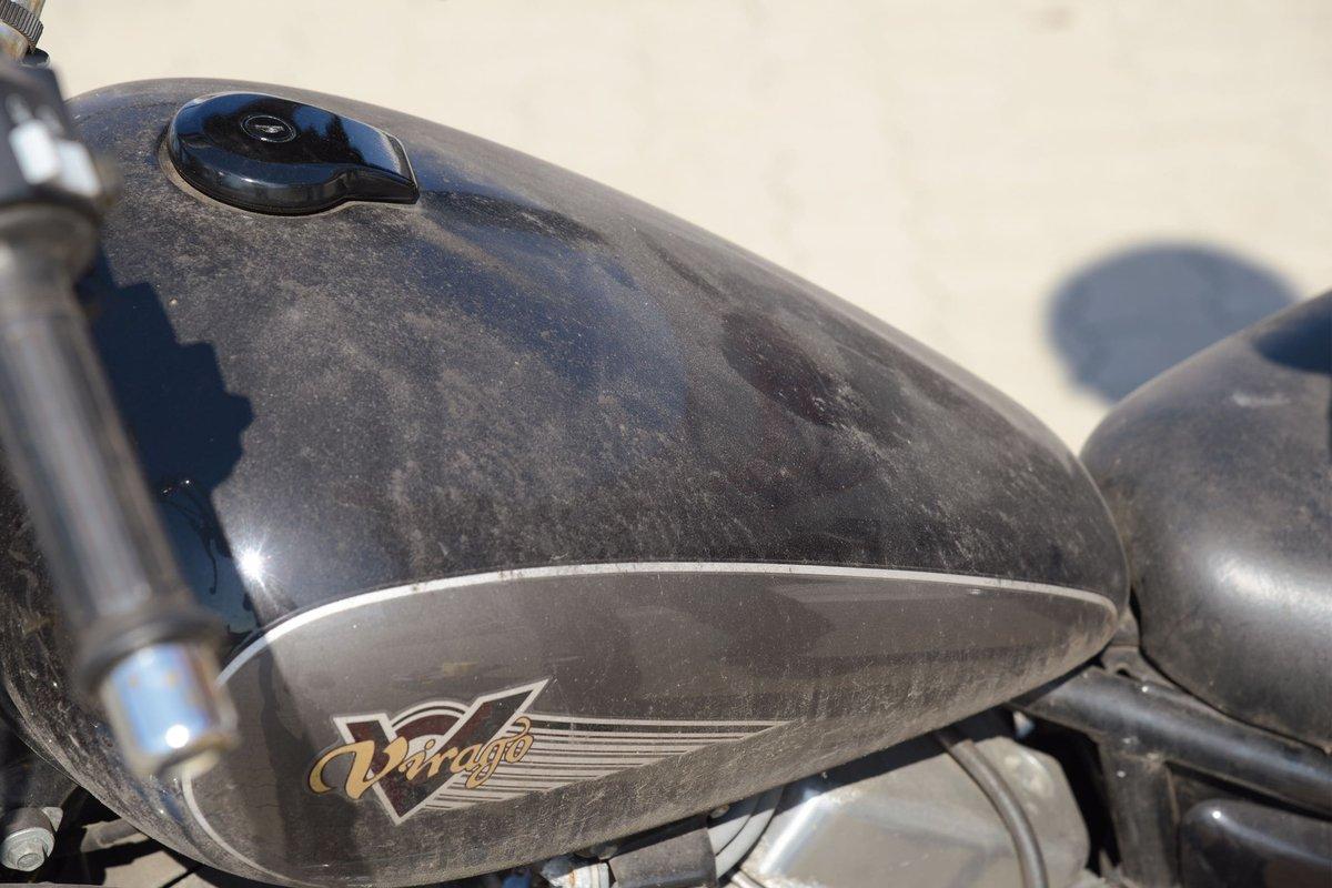 Step 8 – Winterschmutz vom Motorrad entfernen