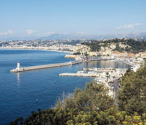 Frankreich Rundreise zum Mittelmeer