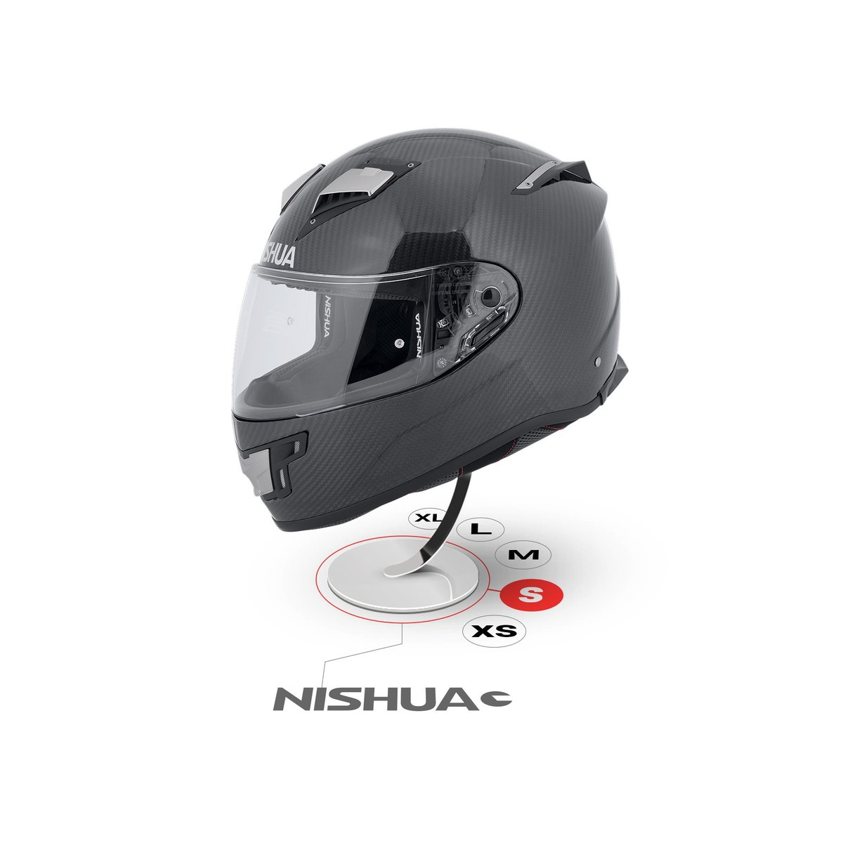 Nishua NRX-2 Carbon Full-Face-Helmet