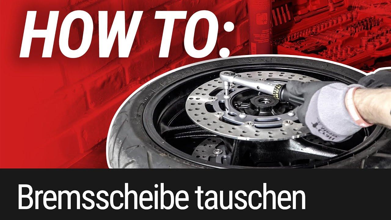 HOW TO: Bremsscheibe wechseln