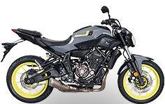 Original bike Yamaha MT-07