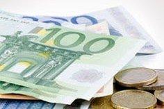 Euro-sedler og mønter